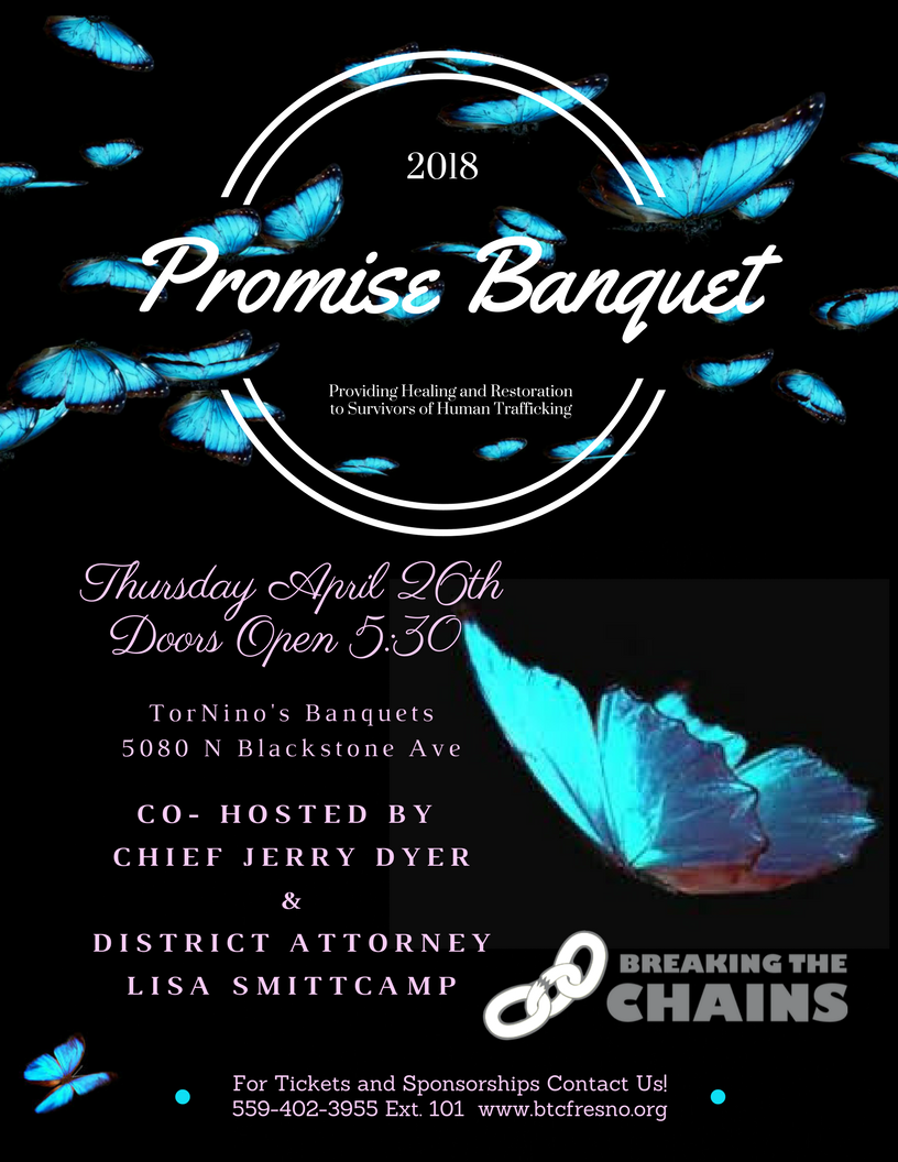 banquet flyer breaking the chains