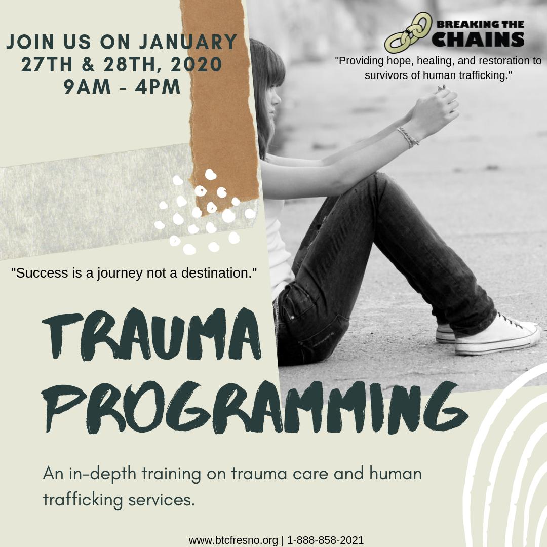 Trauma Programing Training
